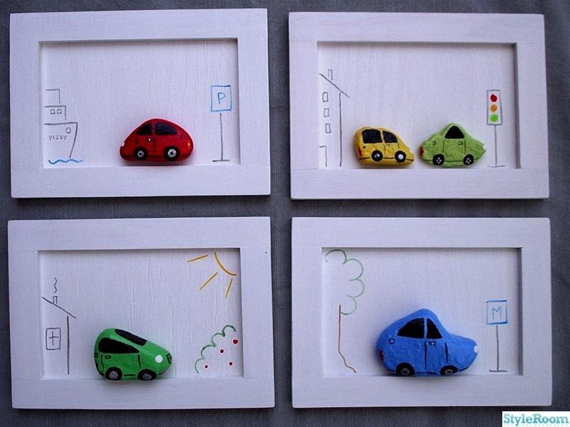 natur,bil,tavla,sten,bilar