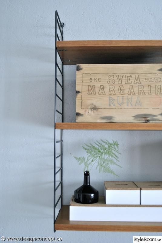stringhylla,detaljer i hemmet,arbetsrum,hemmakontor,kristina stark design