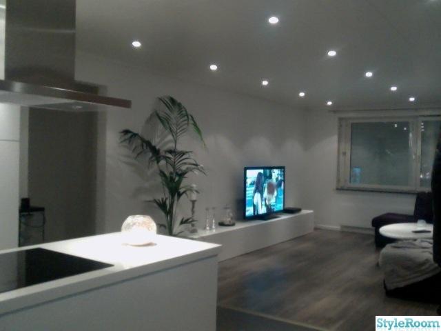 Kok Vardagsrum oppen Planlosning : Renovering av kok  oppen planlosning  Hemma hos