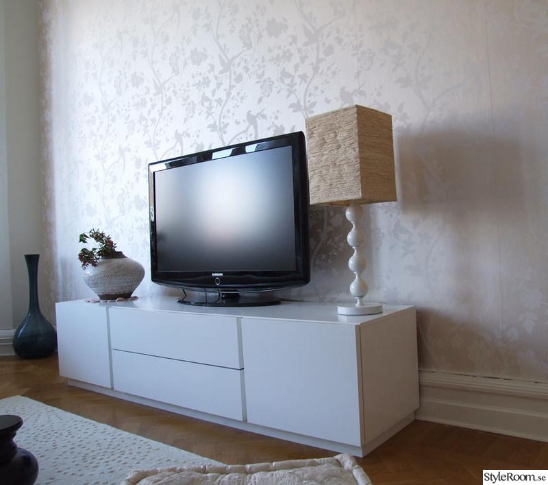 tv,tvbänk,vit tv-bänk