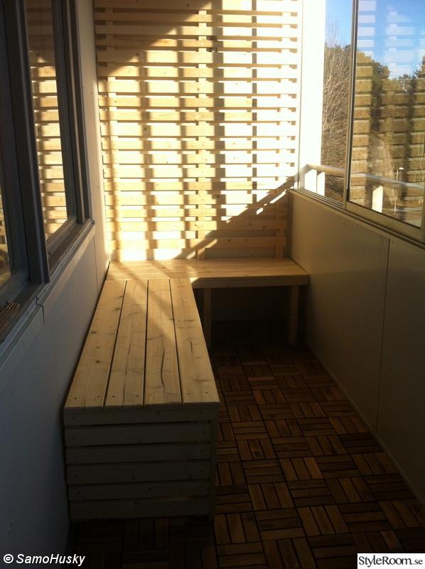 Hornsoffa balkong