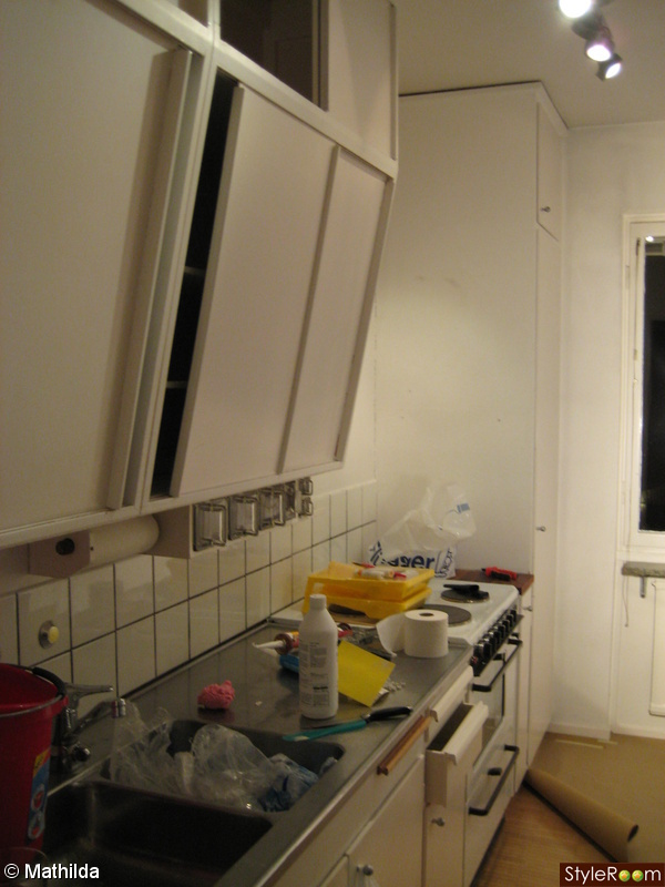 Kok Belysning Under Skap : eluttag kok under skop  Bild po renovering Logenheten fore av