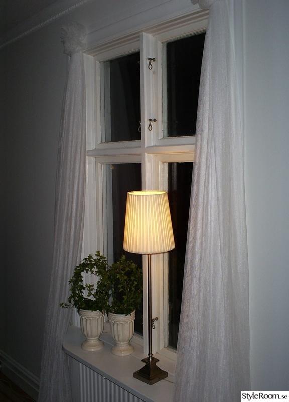 fönster,gardiner,romantiskt,vitt,gardinuppsättning
