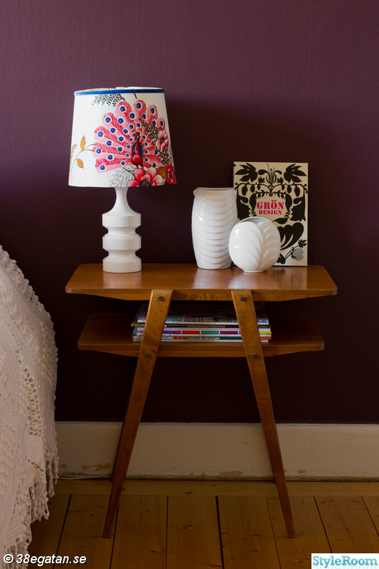bordslampa,retro,nattduksbord,sänglampa,diy