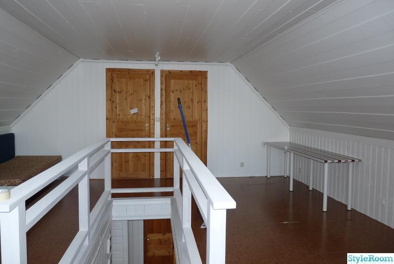Övervåning,vitt,sprutmålat