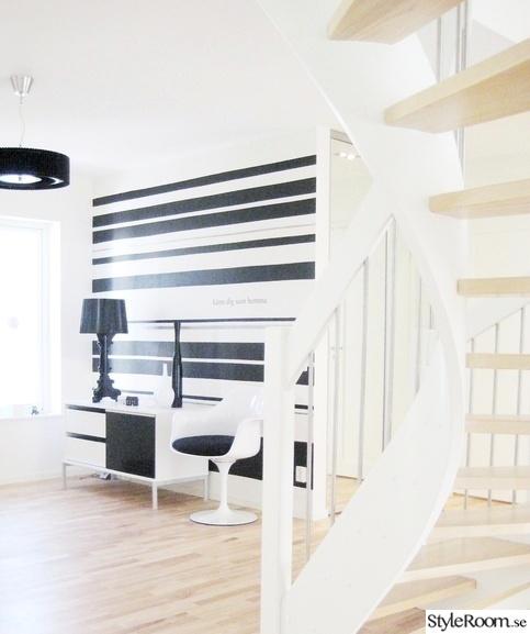 trappa,hall,svartvitt