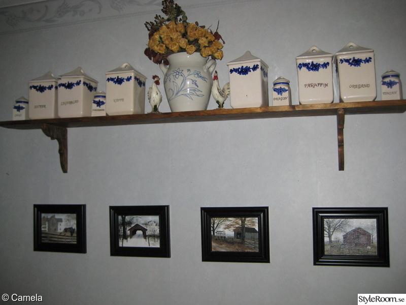 new england,kökssoffa,lantligt,kryddburkar,lantkök