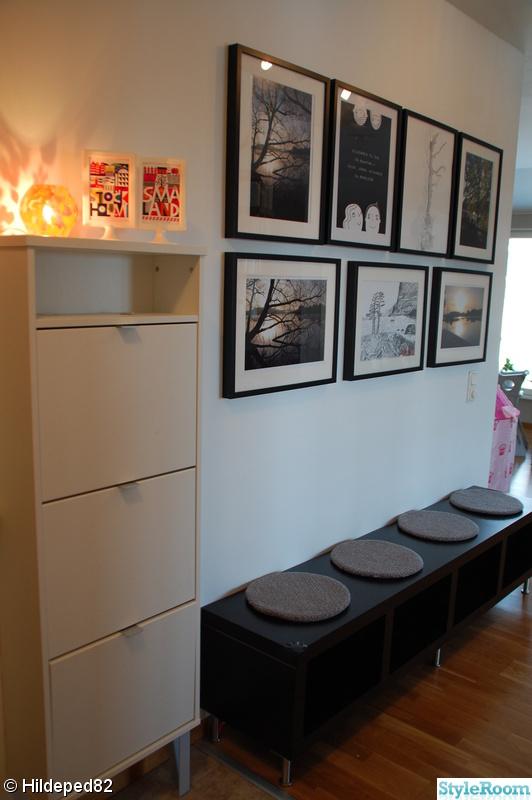 Bild på tavelvägg Hallen av Livingfamily