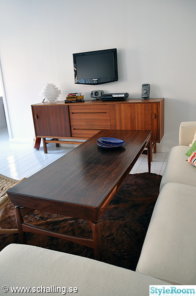 vardagsrum,soffbord,sideboard,teak,jakaranda