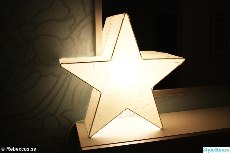 hall,lampa,stjärna,stjärnlampa,adventsbelysning