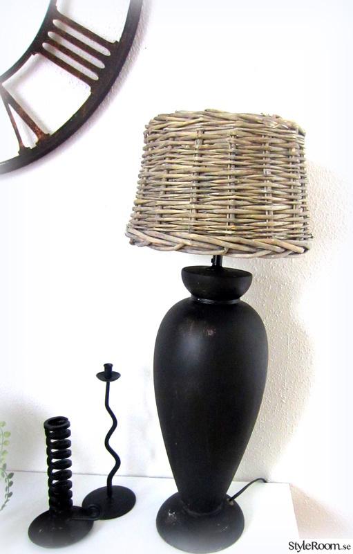 bordslampa,rotting,diy lampa