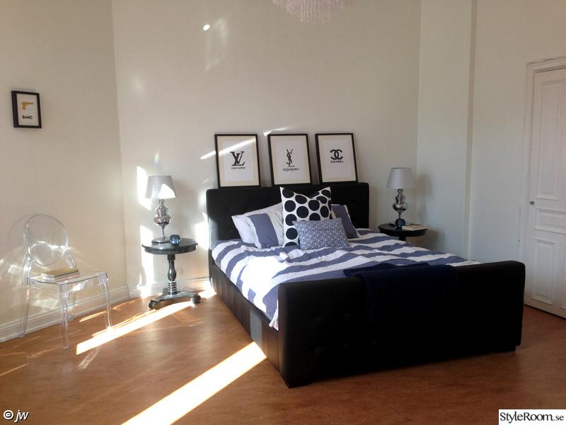 blått,sänggavel,nattduksbord,konst,ilva