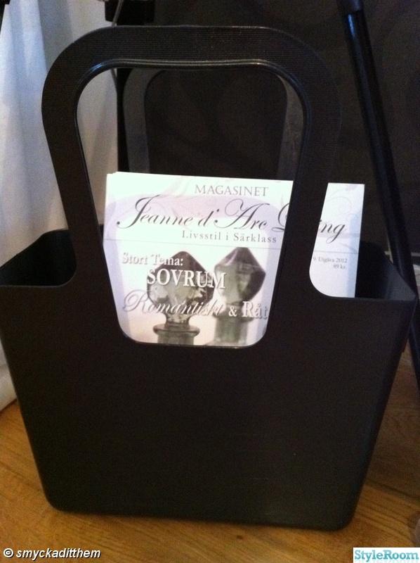 tidning,koziol,väska,jeanne d' arc living
