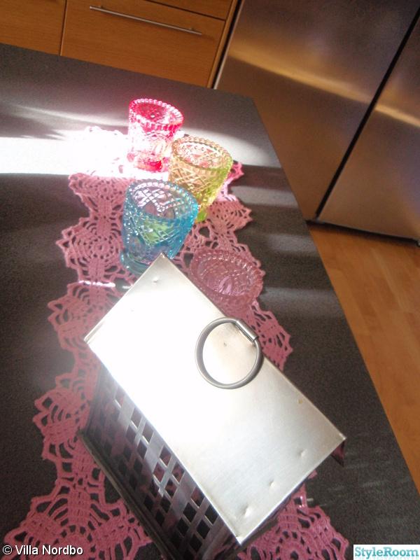 rosa,ljuslyktor,lykthus