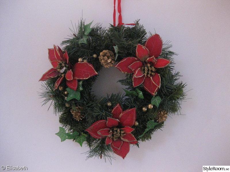 julpynt,julkrans,dörrkrans