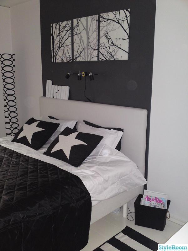 Bild på sänggavel Sovrum av kvisten