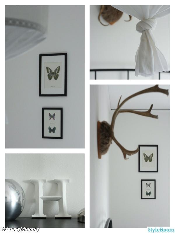 butterfly,fjärilstavla,renhorn,bokstav