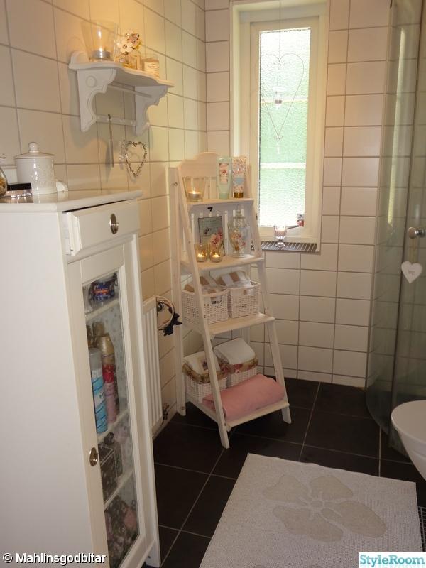 öppen hall och litet badrum Hemma hos Mallanbrallan