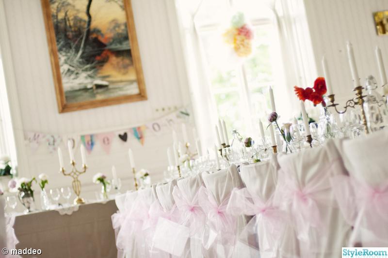 bröllopsdukning,dukning