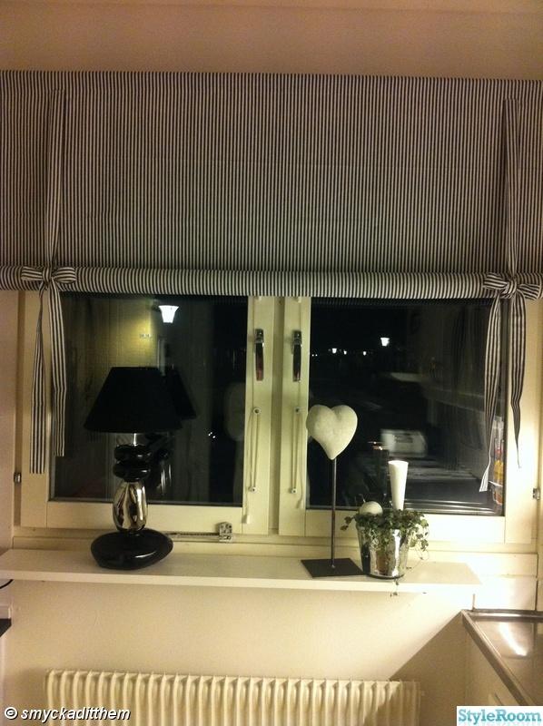 Handtag Guld Kok : hissgardin,hisskappa,svart vit randig,fonsterlampa,fonster