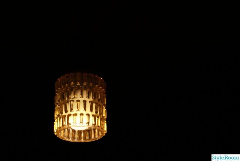 50-tal,retro,gul,lampa