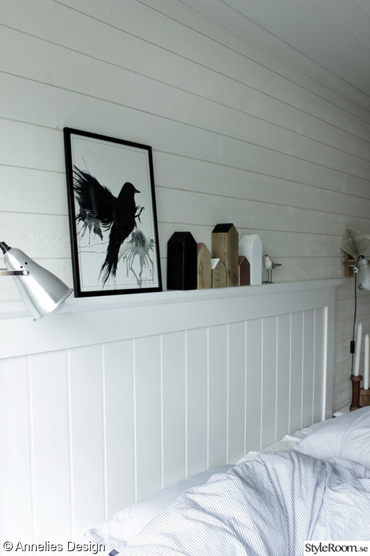 Bild på tavla DIY pyssel för inredning av Svartvittochrott