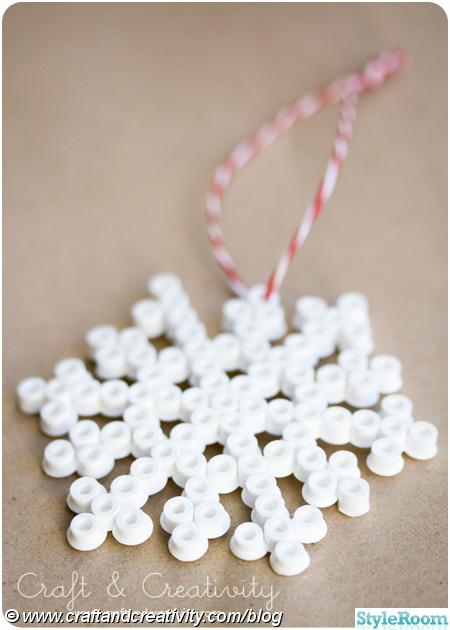 julgranspynt,snöflinga,pärlplattor,pärlor,plastpärlor