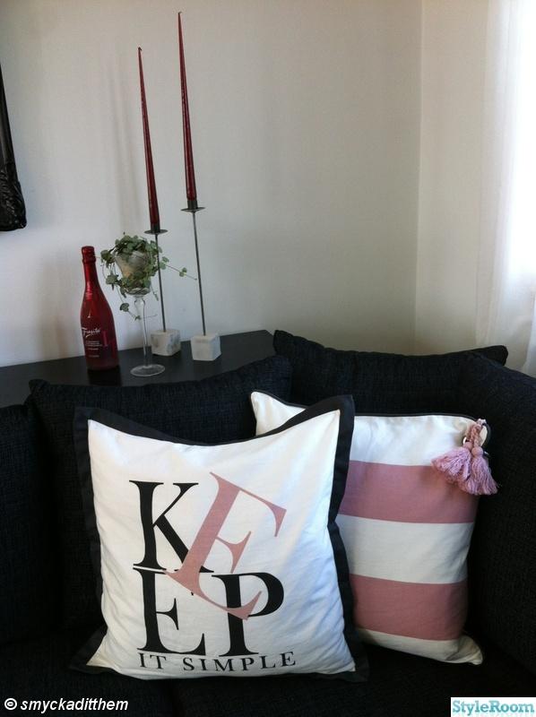 soffa,ljus,ljusstakar,miljögården,hjärta på tråd