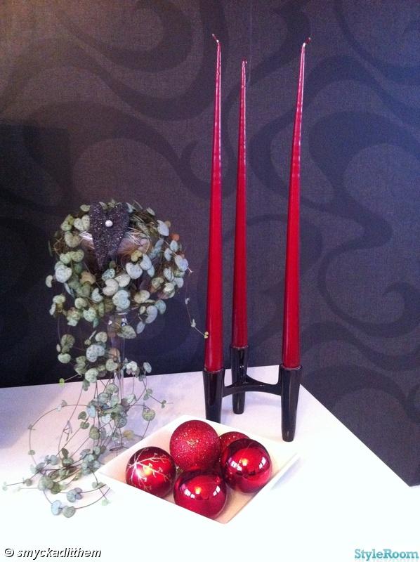 ljus,koziol,hjärtan på tråd,julgranskulor,erik & ester