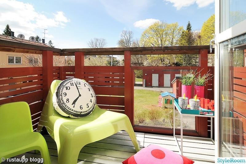 balkong,vågö,rosa,brickbord,grönt