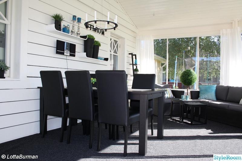 uterum,altan,svart bord,konstrotting,inglasning