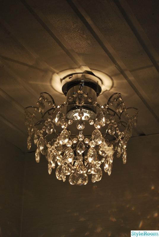 glödlampa till kristallkrona