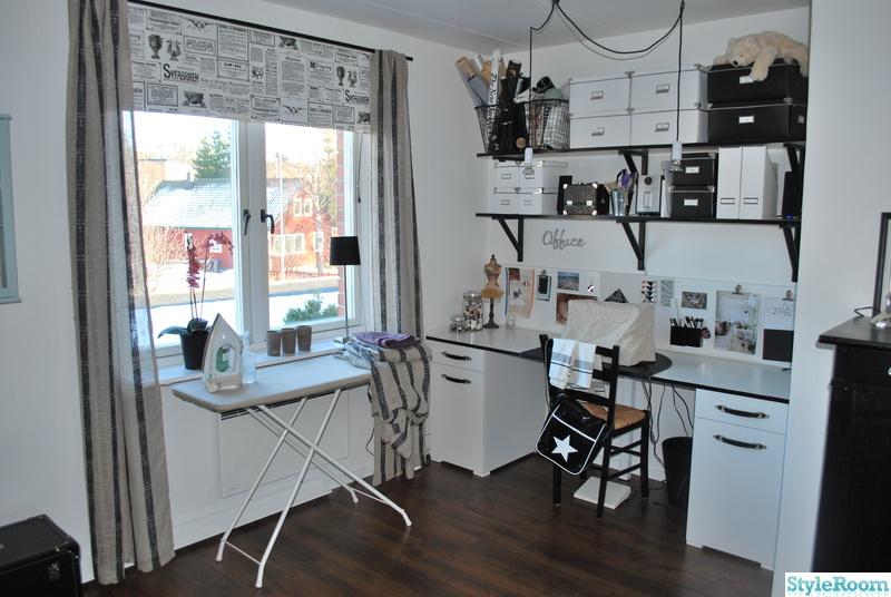 skrivbord kontor ~ radhuset från 1978 har bytt skepnad!  hemma hos dalahorse72