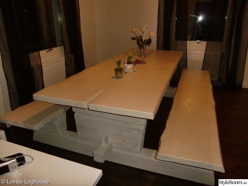 matbord,matsalsbord,rustikt matbord
