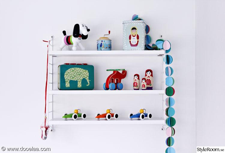stringhylla barnrum,stringhylla,pappersgirlang,brio,leksaker