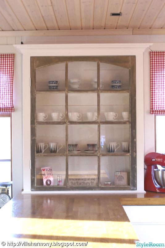 vitrinskåp,kök