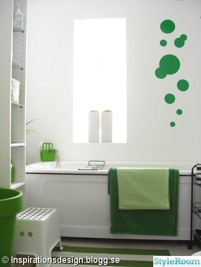 badrum,grön,badrumsinspiration