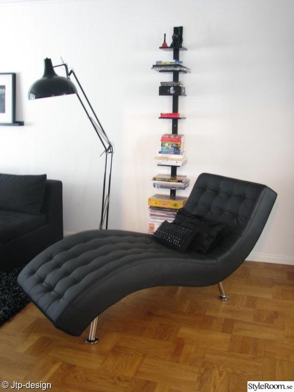 bokhylla,lampa,vitt,svart,mio