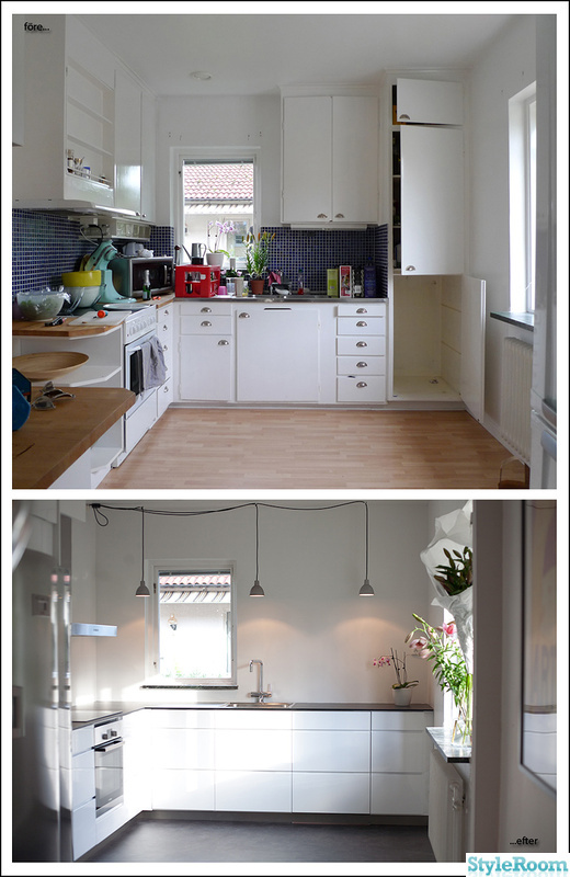 Renovera Kok Och Vardagsrum : Bild po renovering  Renovering kok, fore, under och efter av jocke