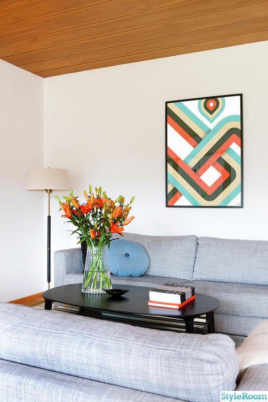 soffbord,tavla,lampa,vardagsrum,soffa