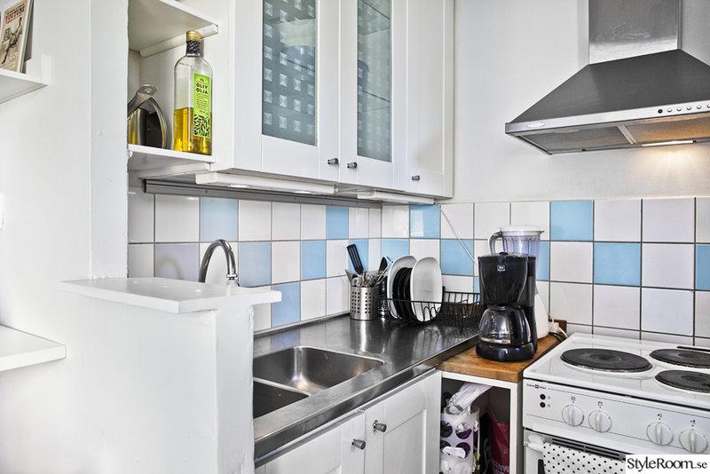 Litet kök i liten lägenhet