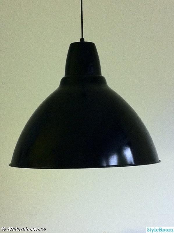 Svart Kokslampa : svart lampa,svart,kokslampa