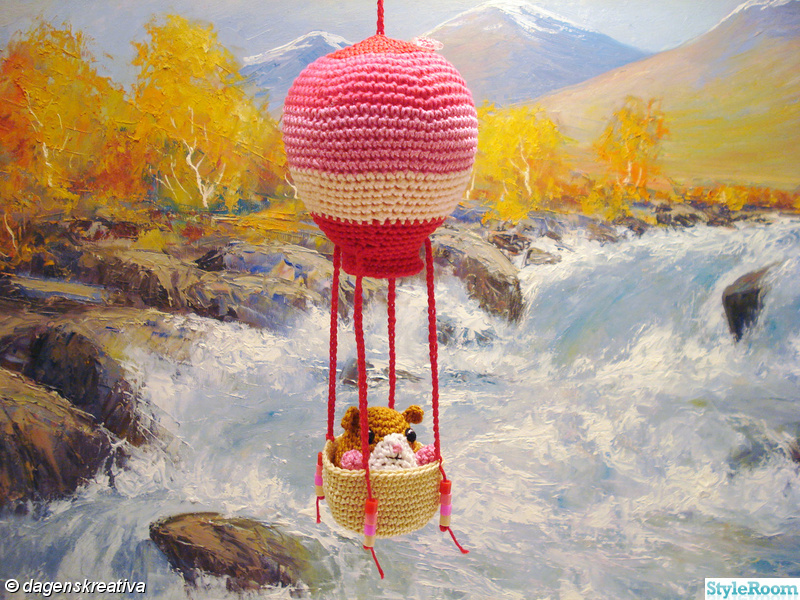 barnrum,rosa,röd,luftballong,dagenskreativa