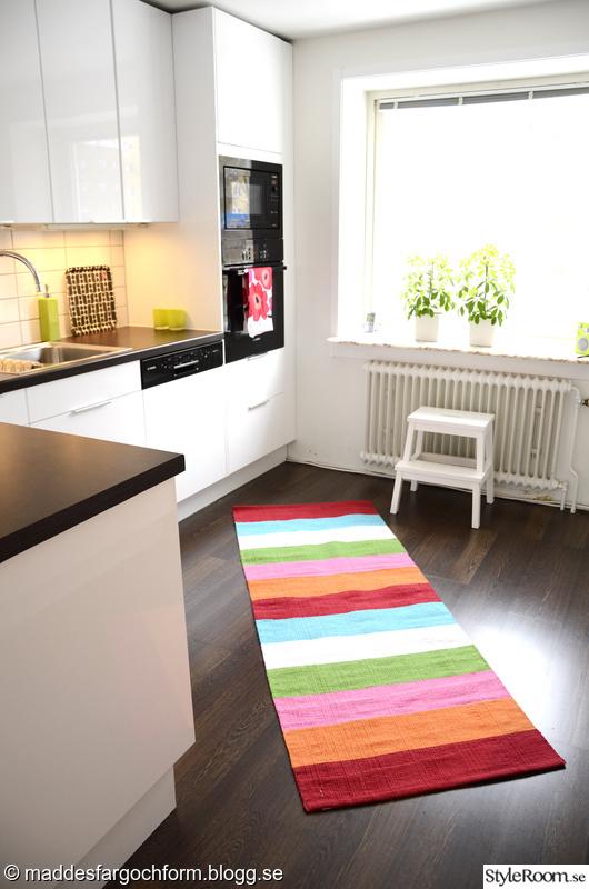 Bild på matta Köket av maddesfargochform