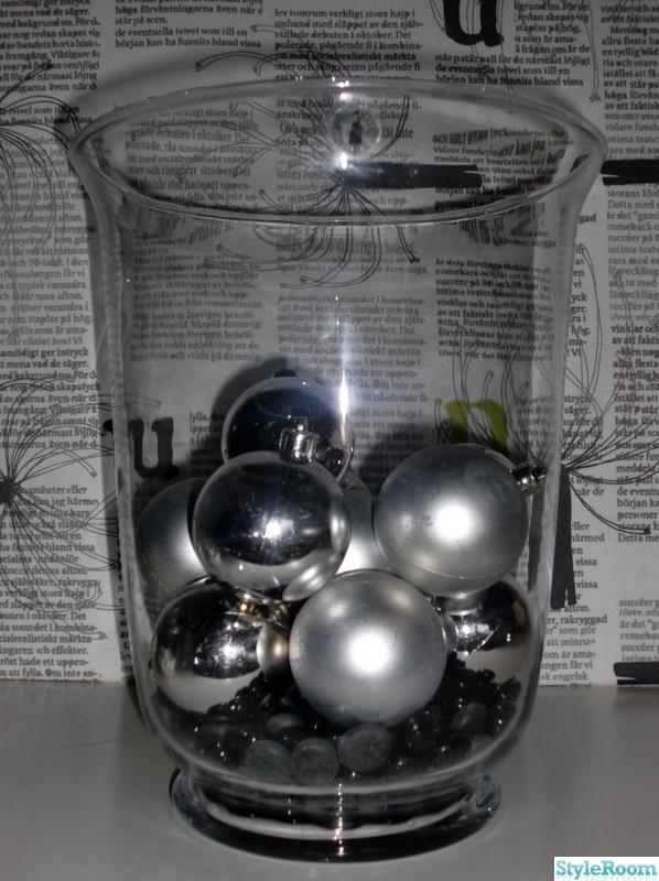 julgranskulor,glasskål,julpynt