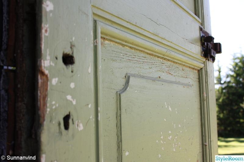 Bild på dörr Uthuset av Sunnanvind