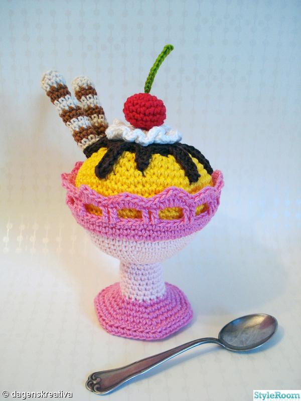 rosa,gul,virkat,grädde,glass