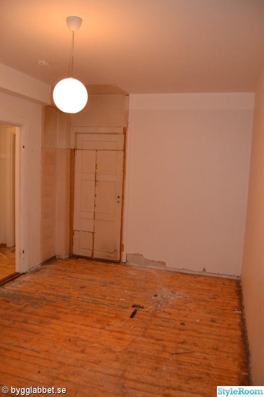 Bild på golv Totalrenovering av vår första bostadsrätt av digi
