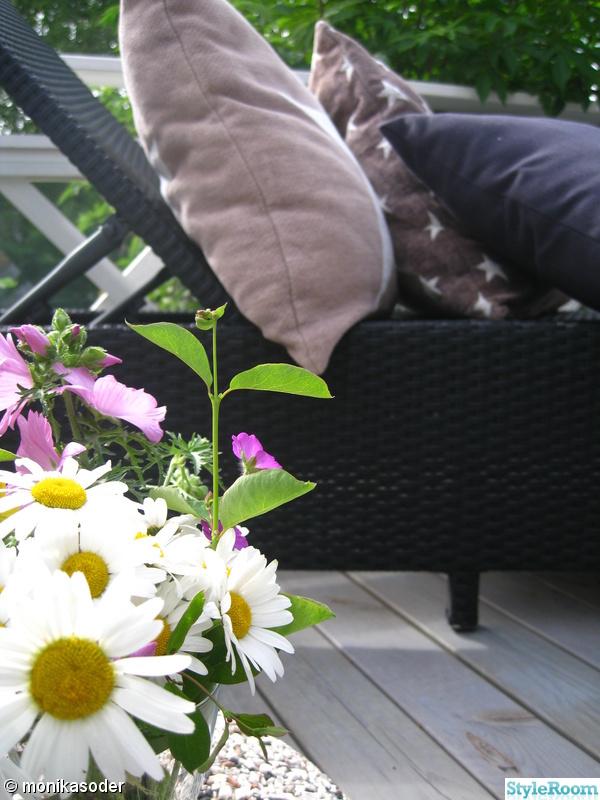 blommor,balkong