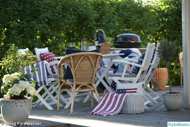 new england,trädäck,altan,trämöbler